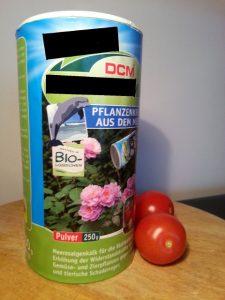 Biologischer Pflanzendünger